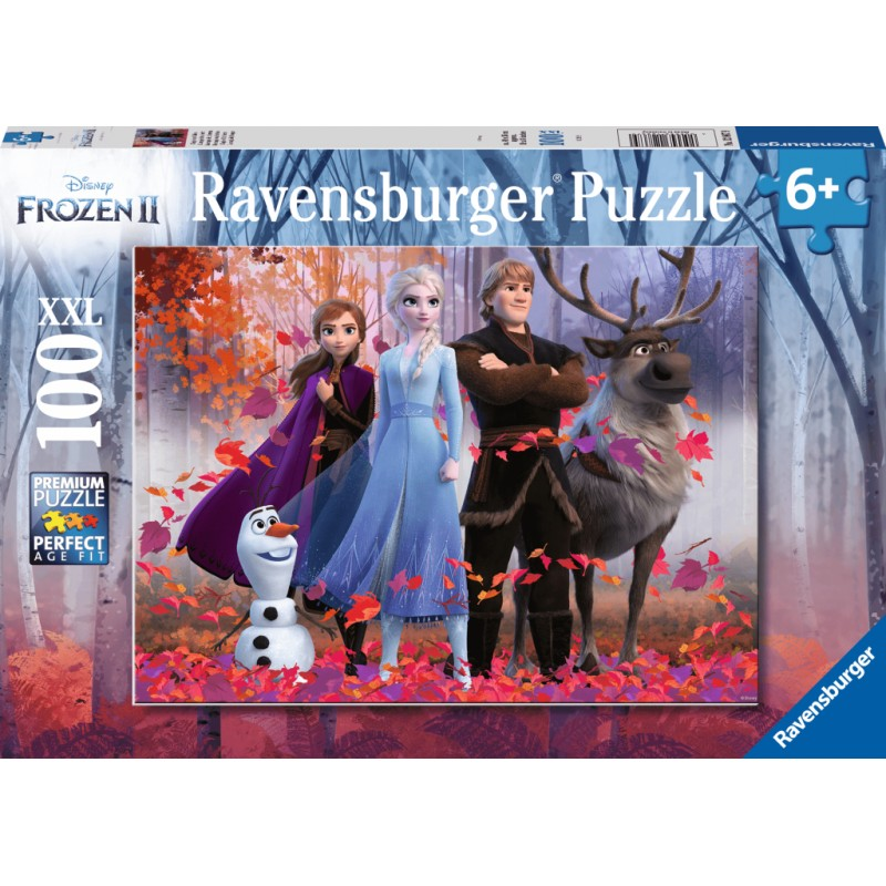 Ravensburger Puzzle - Frozen 2 Magic of the Forest 100 pieces