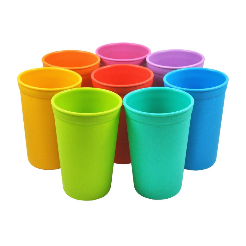 Replay 8 Piece Rainbow Set - Tumbler Drinking Cups-Dinnerware-BabyDonkie