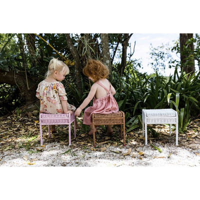 Olli Ella Storie Stool - Natural-Furniture-BabyDonkie