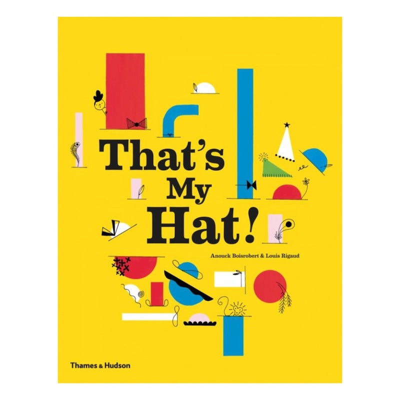 That's My Hat by Anouck Boisrobert-Book-BabyDonkie