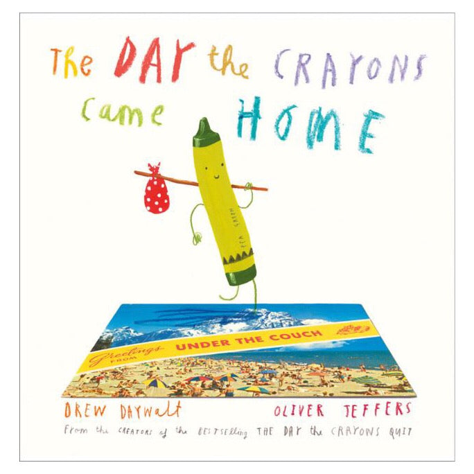 The Day The Crayons Came Home-Book-BabyDonkie
