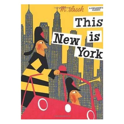This is New York by Miroslav Sasek-Book-BabyDonkie