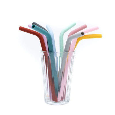 We Might Be Tiny - Bendie Silicon Straws - Sun and Sky-BabyDonkie