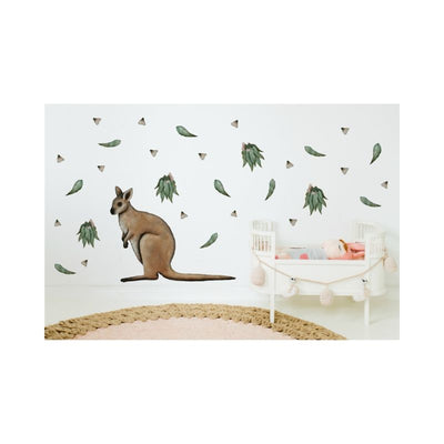 Wondermade - Eucalyptus leaves Wall Decal-BabyDonkie
