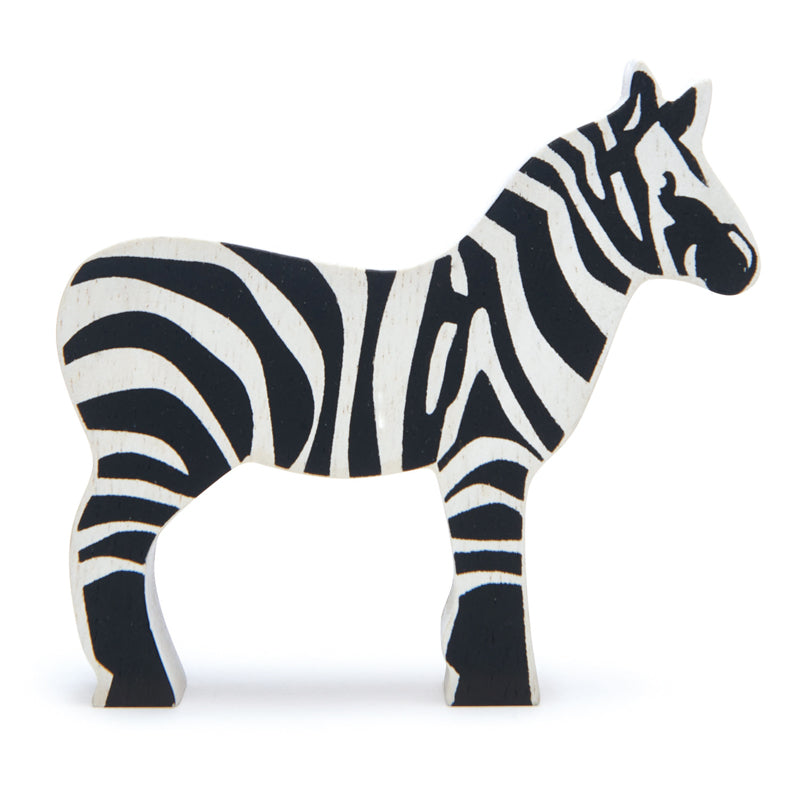 Tender Leaf Toys Wooden Animal - Zebra