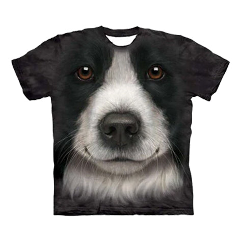 Border Collie 3D T-Shirt