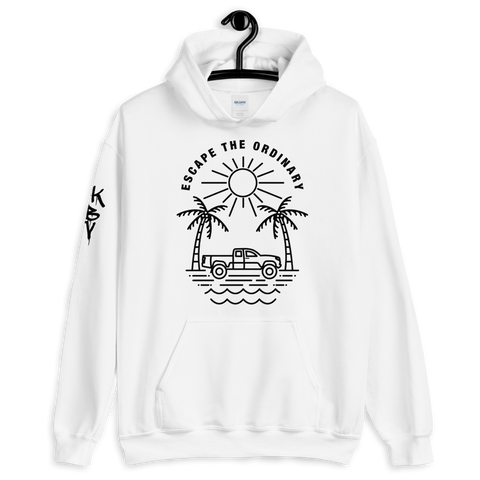 Escape The Ordinary Hoodie (White)