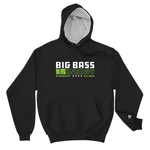 Open image in slideshow, Champion X Big Bass Energy Hoodie (NEW)
