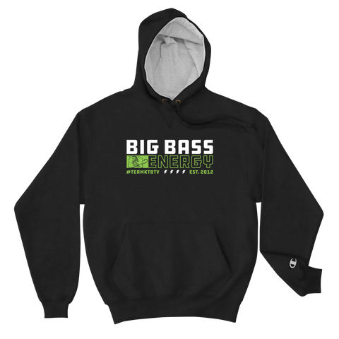 Champion X Big Bass Energy Hoodie (NEW)