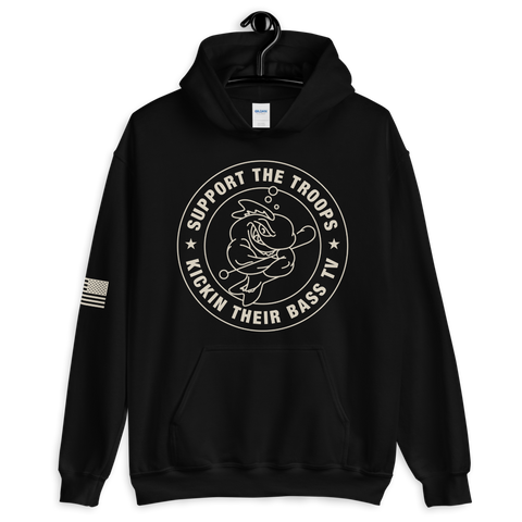Support The Troops Hoodie (Black)