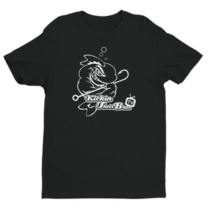 Open image in slideshow, Premium KTBTv Muscle Fish Outline T-Shirt (Black)