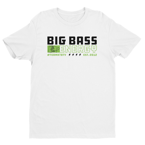 Premium BIG BASS ENERGY T-Shirt (White)