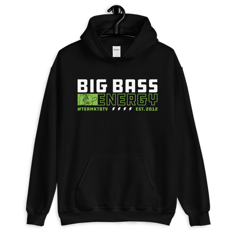 Big Bass Energy Hoodie (Black)