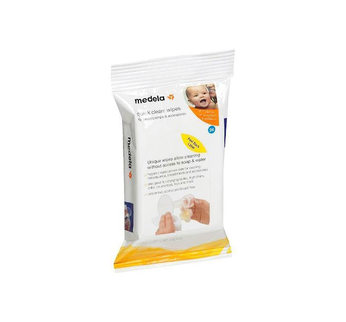 Medela Quick Clean Wipes 24 Pack