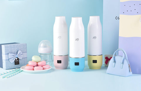 Jiffi Portable Bottle Warmer & Formula dispenser