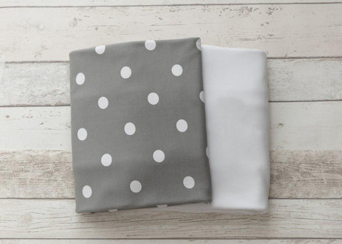 L'il Fraser 2 piece fitted sheet cot sheet set