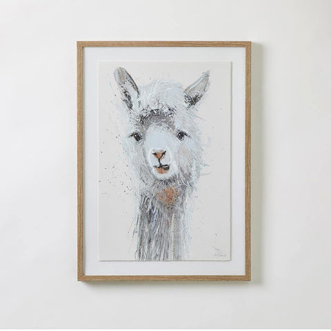 Kuzco the Llama Framed Wall Art - Kiddie Country