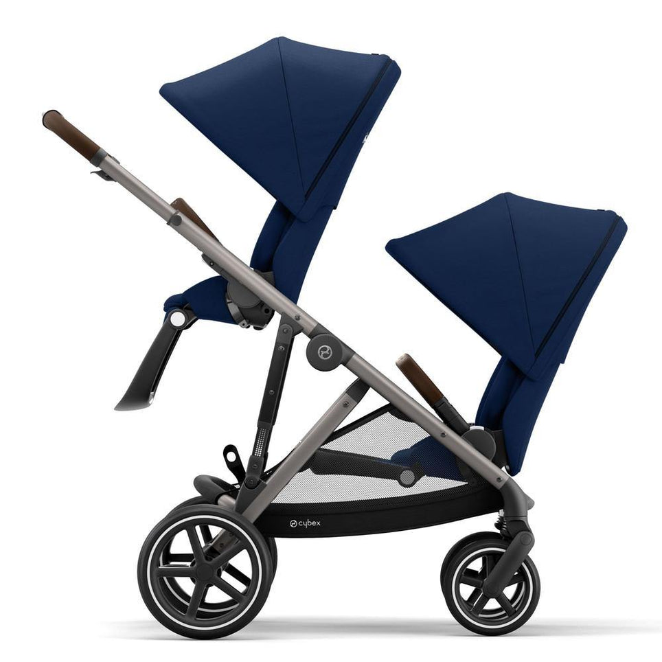 Navy Blue No Carry Cot