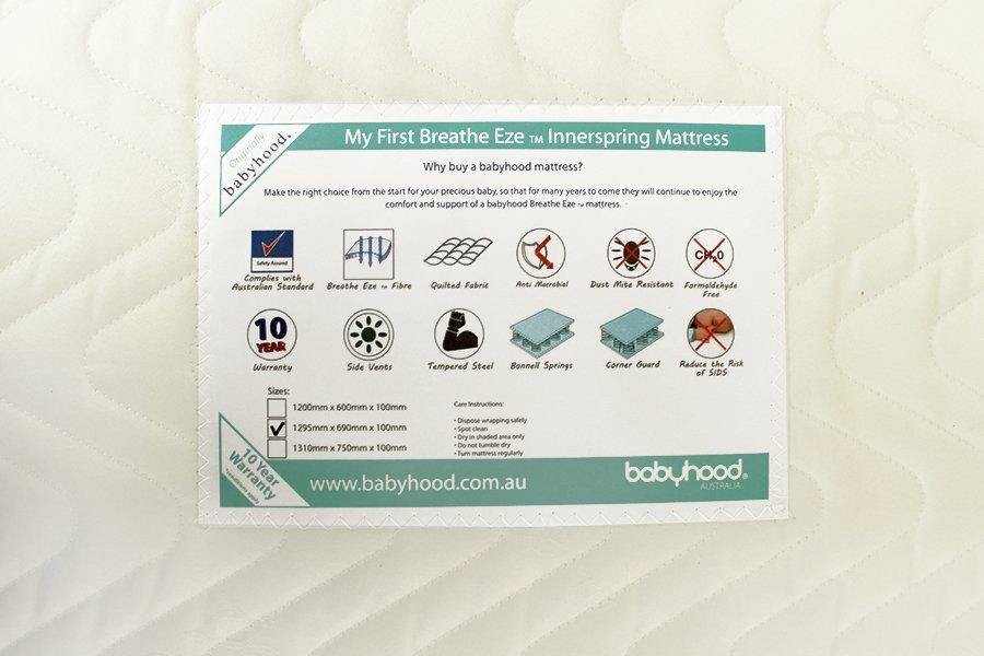 Babyhood My First Innerspring Mattress