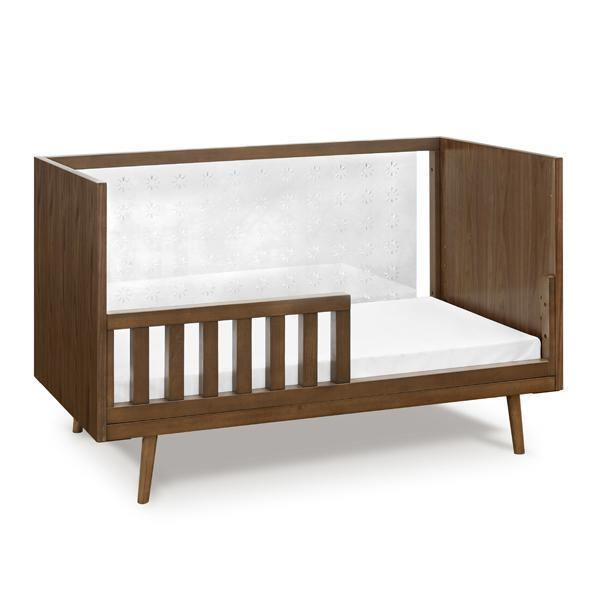 Nifty Toddler Rail Extension Kit in Walnut