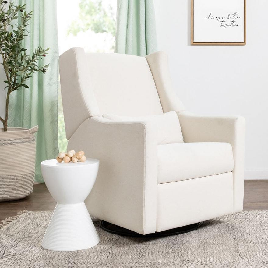 Babyletto Kiwi Electronic Recliner + Swivel Glider with USB Port