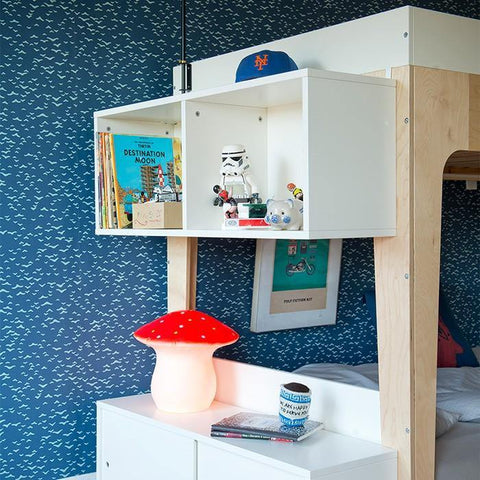 Oeuf Single Bunk Bed Shelving Unit
