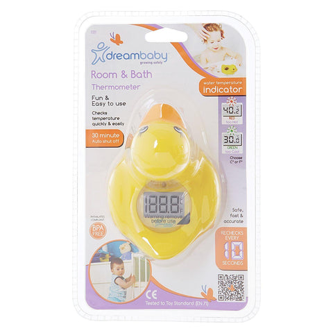 Dreambaby Bath and Room Thermometer Duck