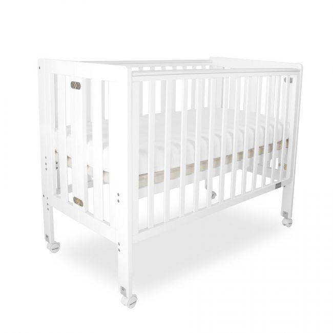 Babyhood Fold n Go Timber Cot - Kiddie Country