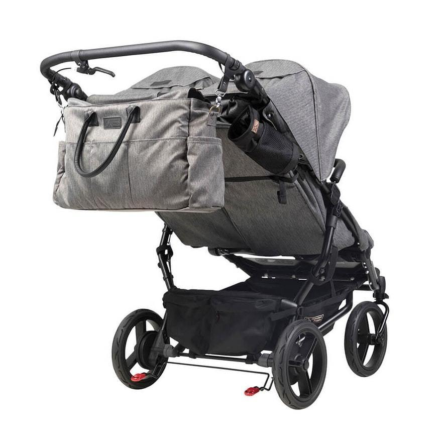 Mountain Buggy Duet Herringbone LUXURY COLLECTION with Carrycot Plus