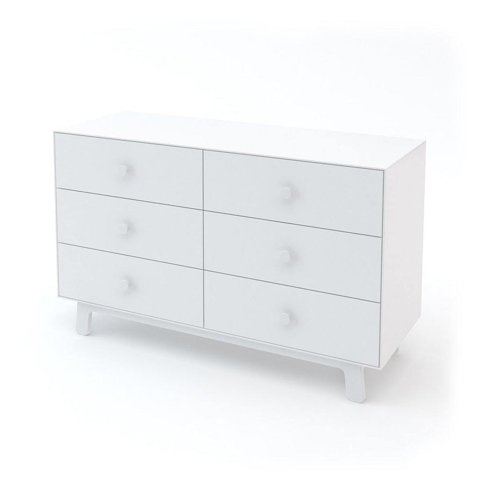 Oeuf Merlin 6 Drawer Dresser Sparrow Base