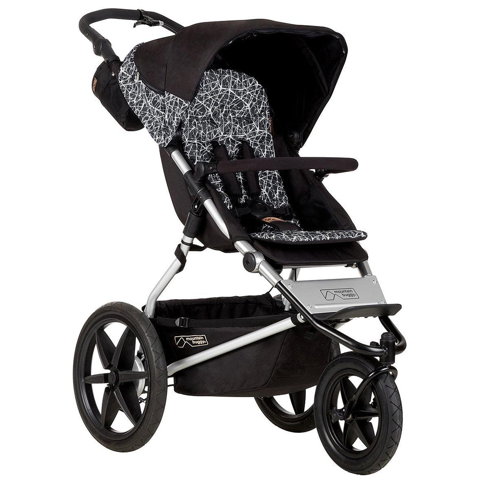 Mountain Buggy Terrain Graphite 3 Wheel Stroller - Perfect for Jogger