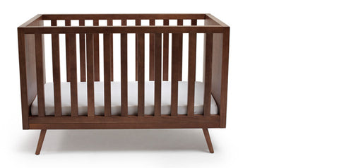 Ubabub Nifty Timber Cot Walnut