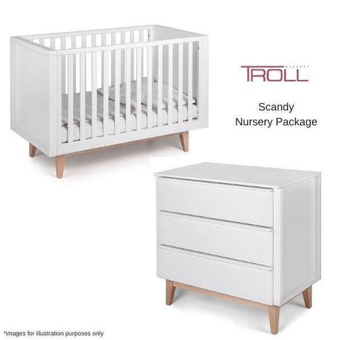 Troll Scandy 3 Piece Nursery Package - Kiddie Country