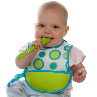 B.BOX Travel Bib with Spoon