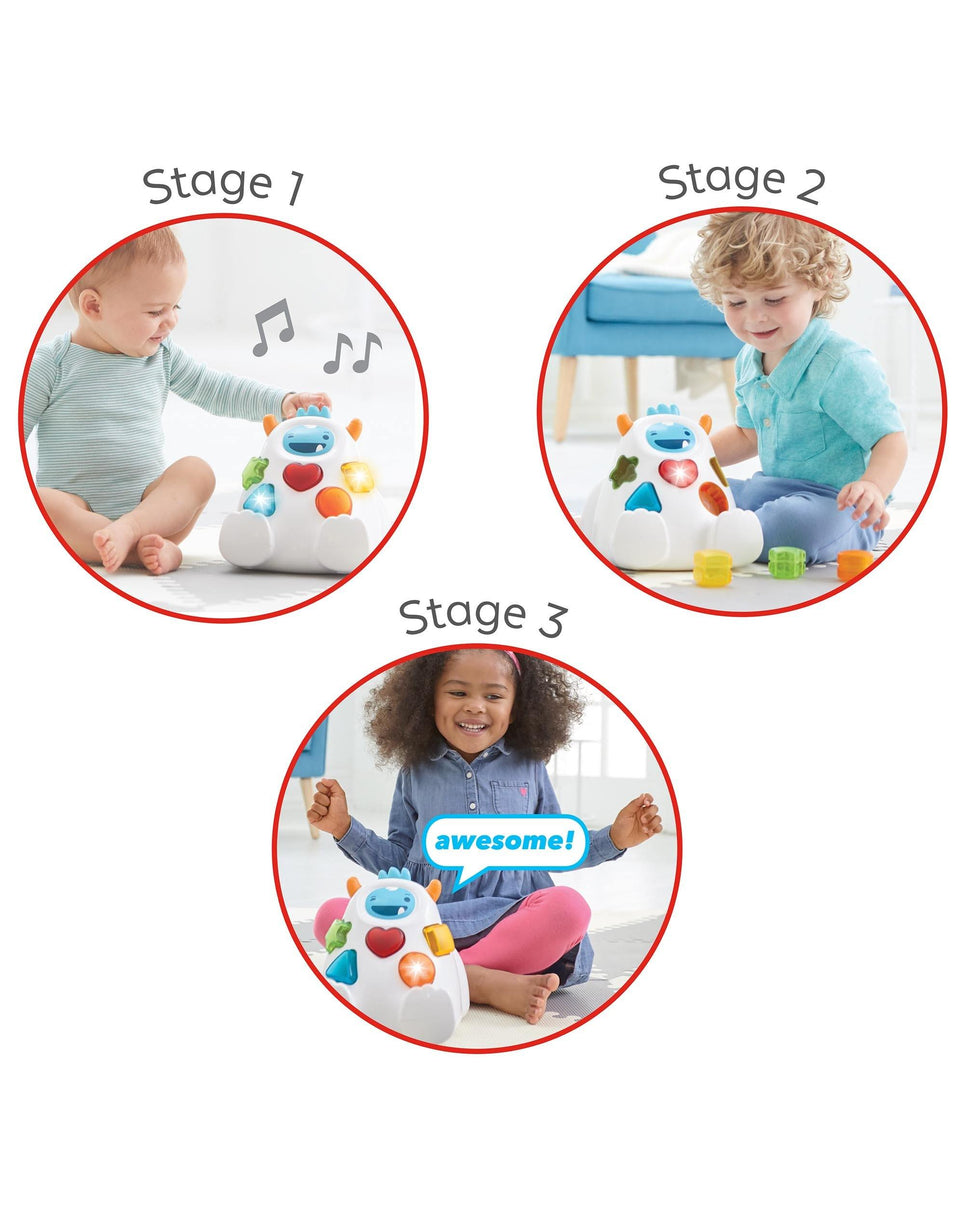 Skip Hop Explore & More Sort & Spin Yeti Shape Sorter - Kiddie Country