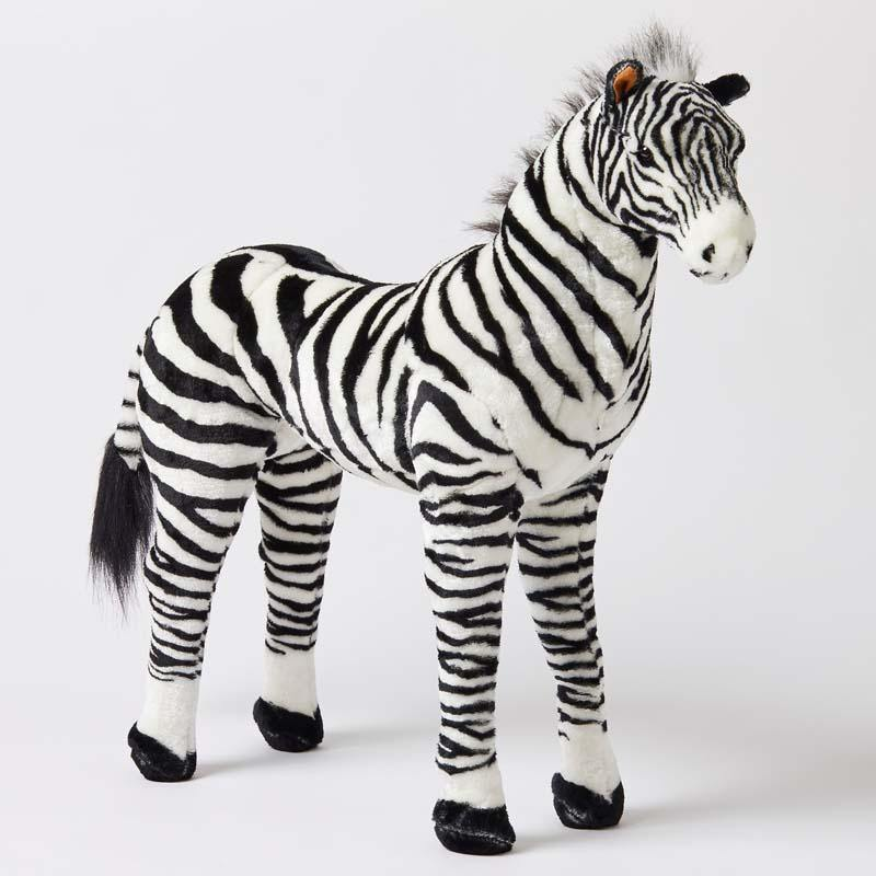 Zebra Large Standing Animal - Kiddie Country