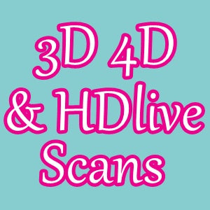 3D 4D HD Baby Gender Scan Ultrasound