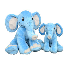 blue elephant stuffed animal