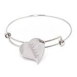 baby's heartbeat jewelry