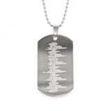 baby's heartbeat dogtag