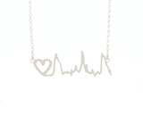 Keepsake baby heartbeat necklace