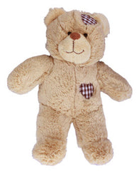 brown patch heartbeat bear