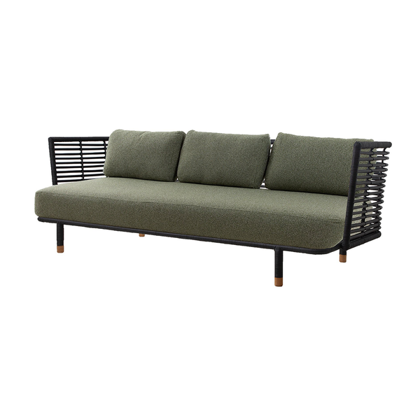 Sense Black | 3 Seater Sofa