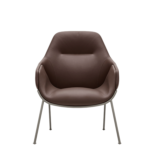Anita | High Back Leather Armchair