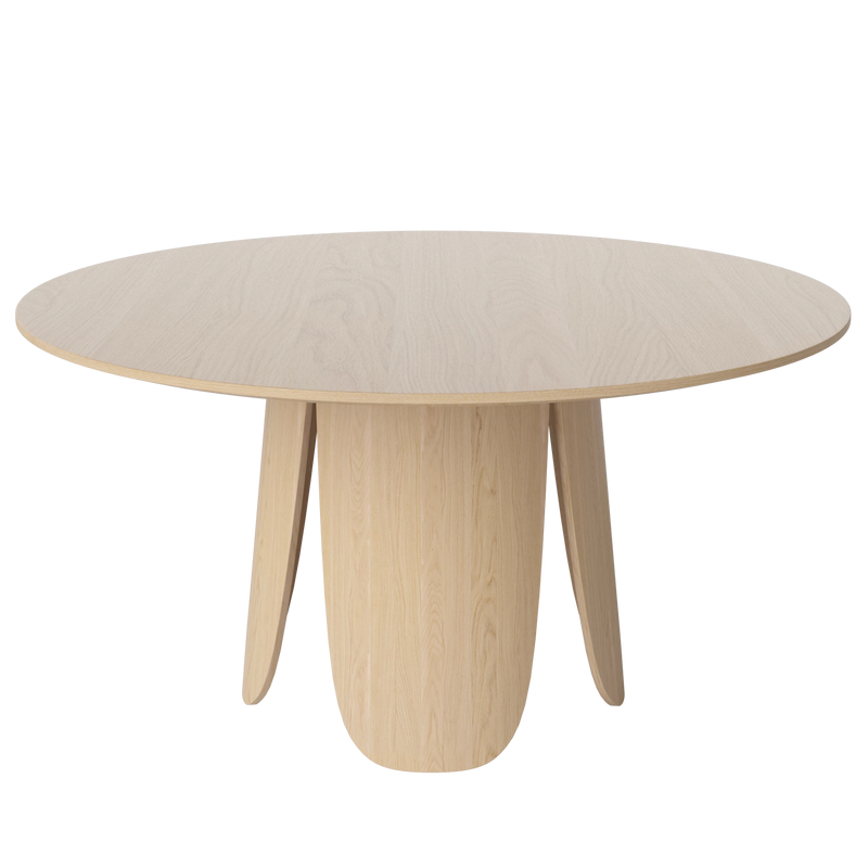 Peyote | White Pigmented Lacquered Oak Dining Table