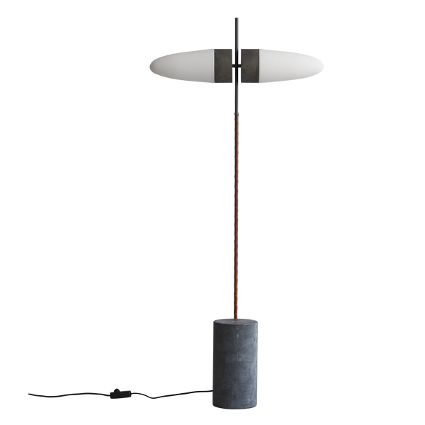 Bull Lamp | Oxidised Floor Lamp
