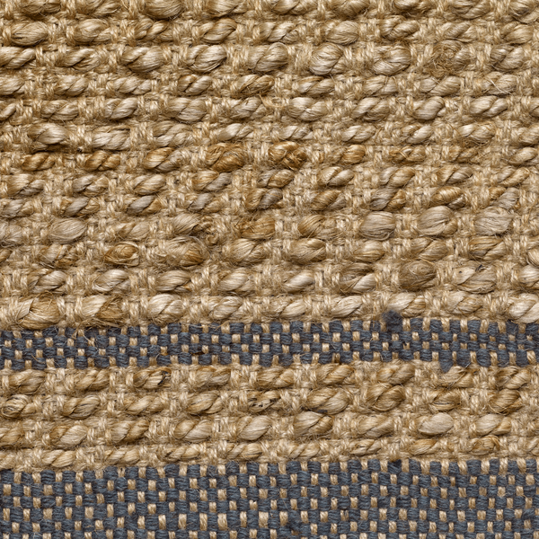 Conwy | Green & jute rug