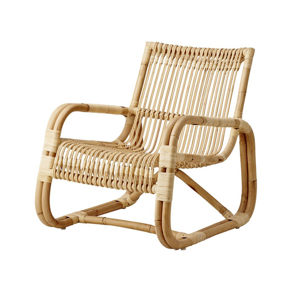 Curve Natural | Lounge Chair