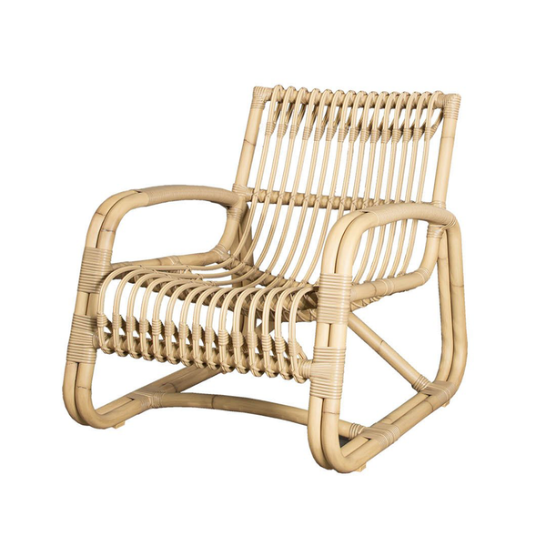 Curve Natural | Outdoor Lounge Chair