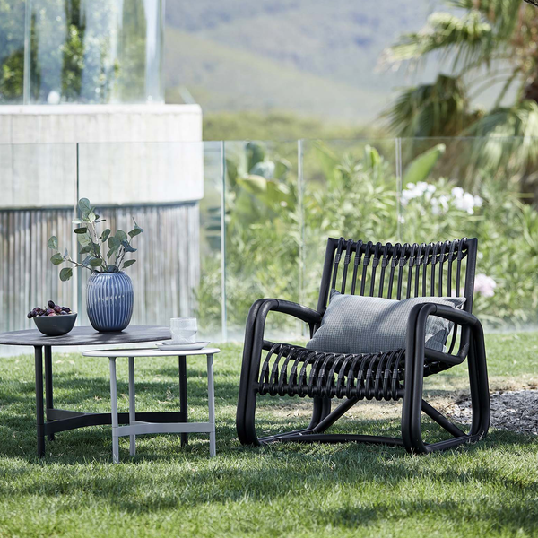 Curve Lava Grey | Outdoor Lounge Chair